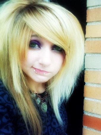 Lunaleft4dead emo and scene hairstyles photo