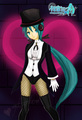 Magician Miku - project-diva fan art
