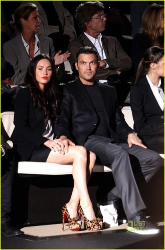 Megan & Brian @ Milan Fashion Week