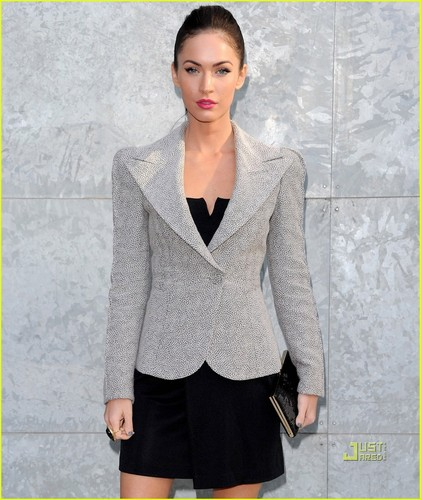 Megan @ Milan Fashion Week