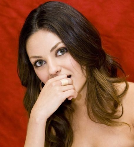 Mila Kunis achtergrond with a portrait, attractiveness, and skin entitled Mila