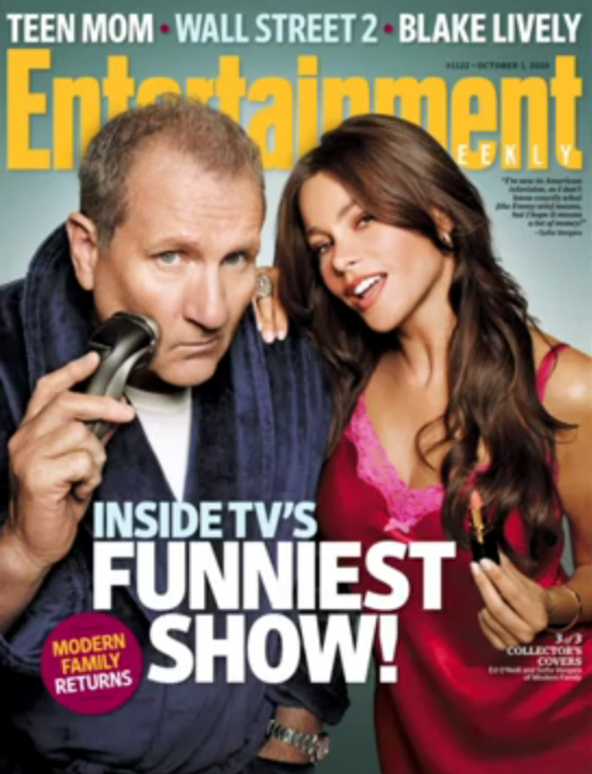 Modern Family 'Entertainment Weekly' Cover