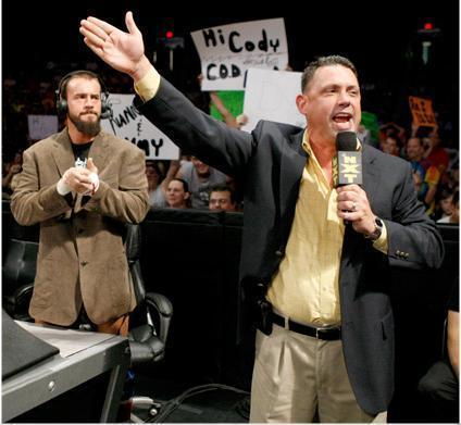 CM Punk & Michael Cole
