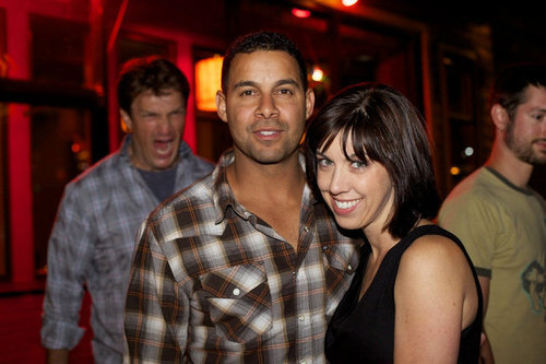 Nathan Fillion: Photobomb MASTER LOL