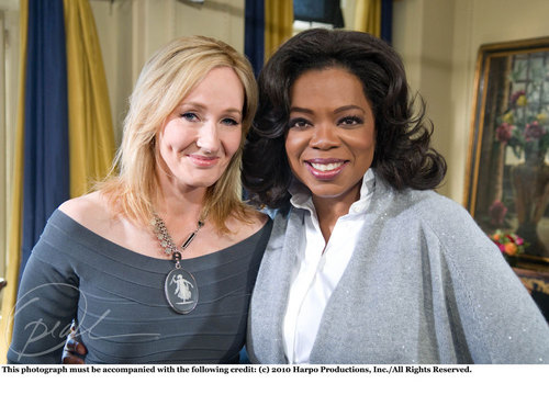 New pic of j.k.rowling and Oprah