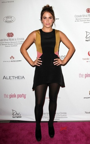 Nikki Reed At The 6th Annual rosado, rosa Party!