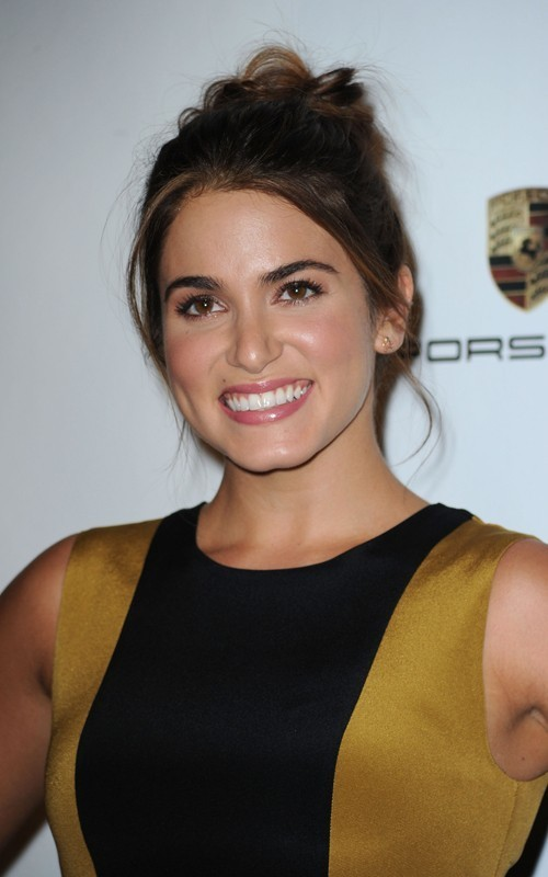Nikki Reed At The 6th Annual गुलाबी Party!