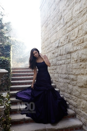 elena gilbert wallpaper probably with a jantar dress, a coquetel dress, and a kirtle titled Nina Dobrev