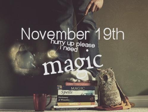 November 19th Hurry Up