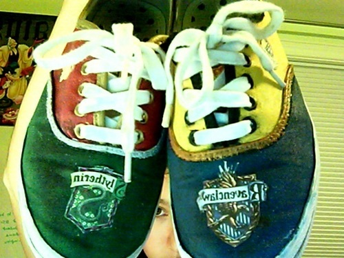 Now the HP side has TWO awesome pairs of shoes!