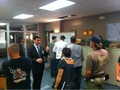 On the CM set - ssa-aaron-hotchner photo