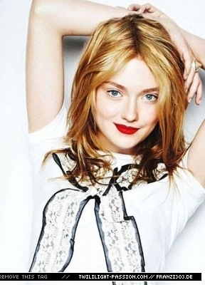 Outtakes Of Dakota Fanning In Flare Magazine