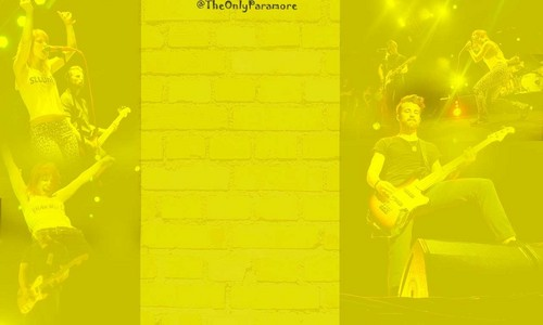Paramore twitter background