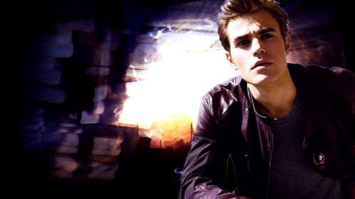Stefan Salvatore 壁紙 containing a 火災, 火 called Paul*