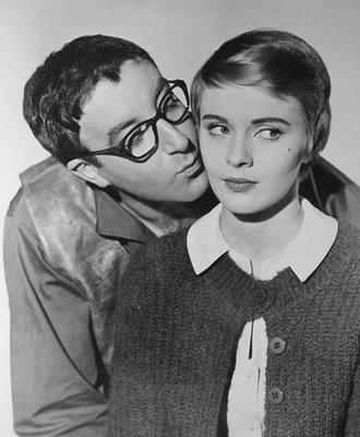 Peter Sellers and Jean Seberg