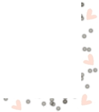 polyvore clippingg♥ wallpaper possibly containing a venn diagram called Polka Dot Heart Border! Use & Credit soeul_mates! ^_^