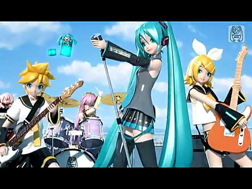 Project DIVA 2nd Opening Baby