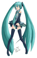 Project DIVA On Stage fan art