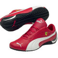 Puma Ferrari New Edition White Red Team Leather Shoes