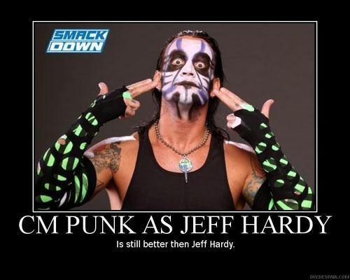Punk Hardy - cm-punk Fan Art