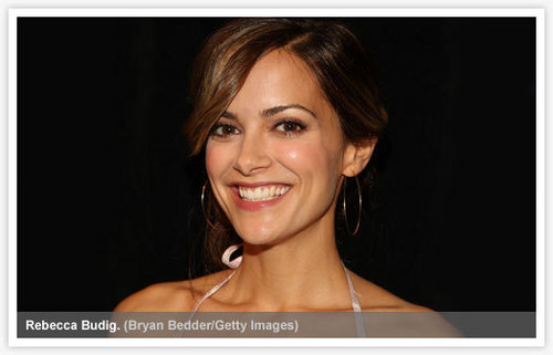 Rebecca Budig wallpaper containing a portrait called Rebecca