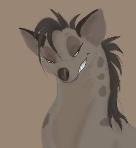 Hyenas from Lion King 壁纸 titled Sassy Shenzi