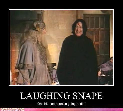Severus having a laugh