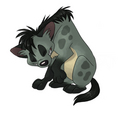 Shenzi laughing - hyenas-from-lion-king fan art