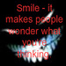 Smile! - quotes icon