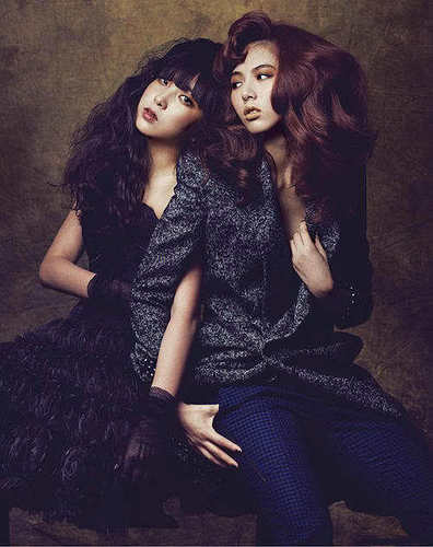 Sohyun & hyuna - Marie Claire