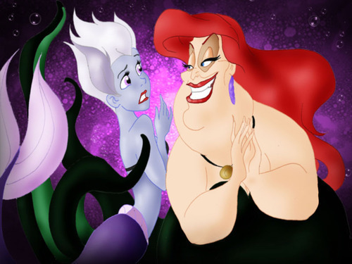Disney Villains wallpaper entitled Something`s wrong here!