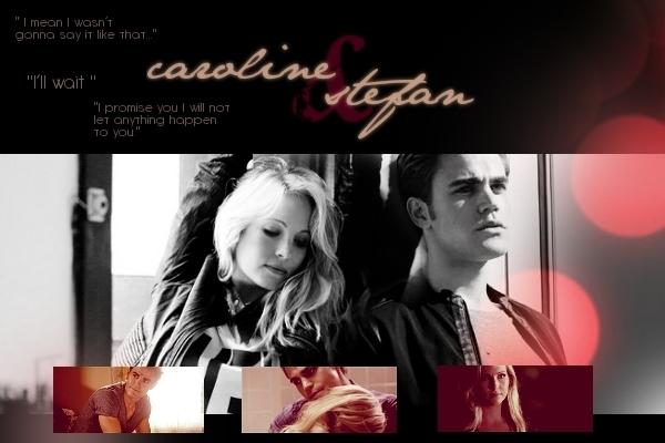 Vampire Diaries Stefan and Caroline Kiss