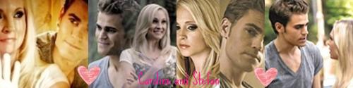 Stefan and Caroline banner!
