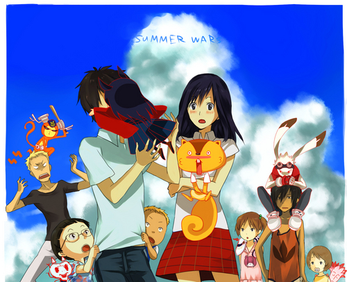 Anime wallpaper possibly with anime titled Summer Wars