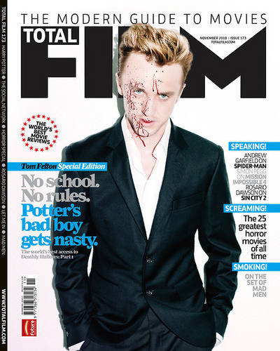 TOTAL FILM TOM FELTON COVER.