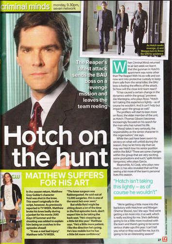 TV Week November 2009