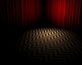 The Black Lodge - twin-peaks wallpaper