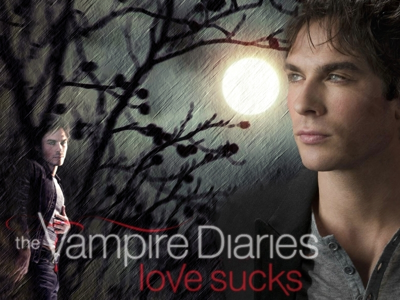 vampire diaries damon pics. The Vampire Diaries - Damon 2