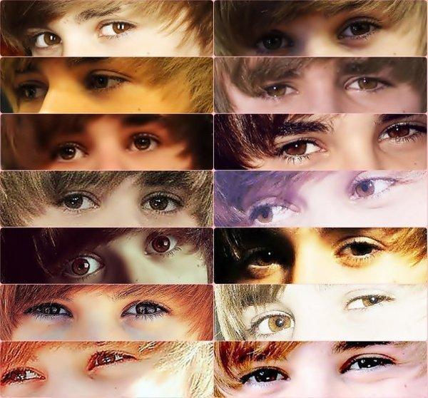 justin bieber eyes. Those eyes - Justin Bieber