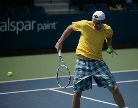 Tomas Berdych yellow