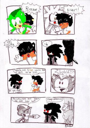 Vivi randomly hugs everyone,except Evil Shade.....XDDD