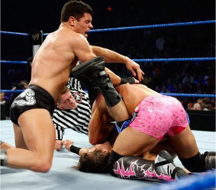 Professional Wrestling hình nền titled wwe Smackdown 24th of September 2010