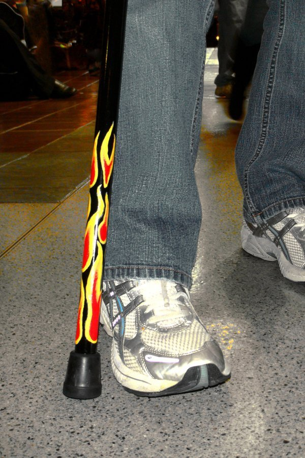 Walking Flames