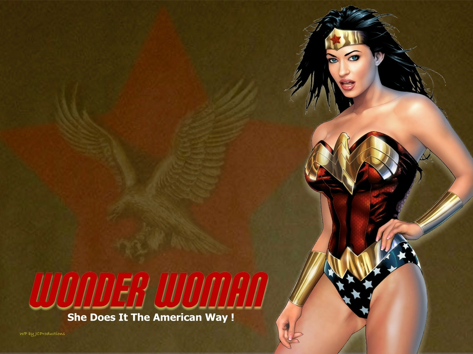 Wonder Woman - DC Comics Wallpaper (15864385) - Fanpop
