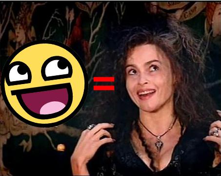 Bellatrix Lestrange fond d'écran containing a portrait called XD