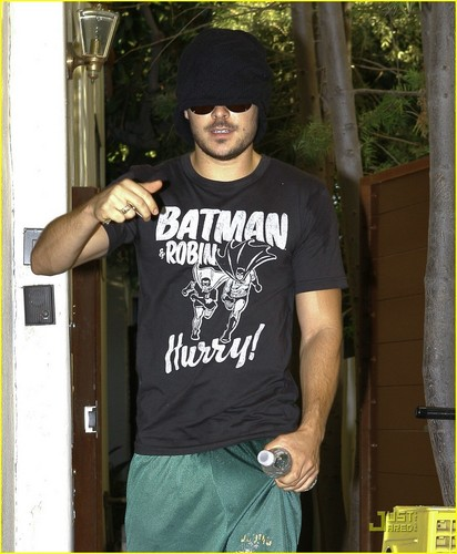 Zac out in Beverly Hills