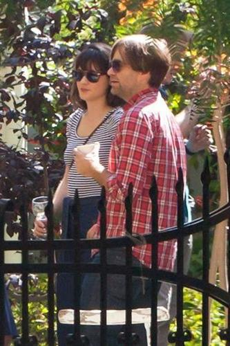 Zooey at Emily D's nuptial Celebratory brunch