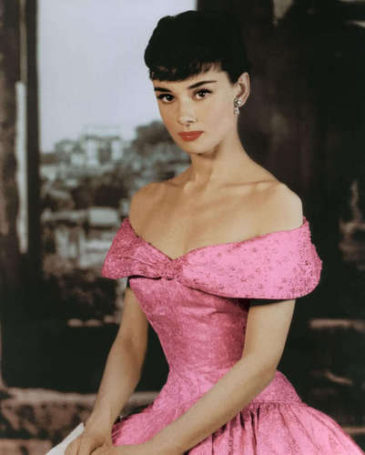 audrey in pink  - audrey-hepburn Photo