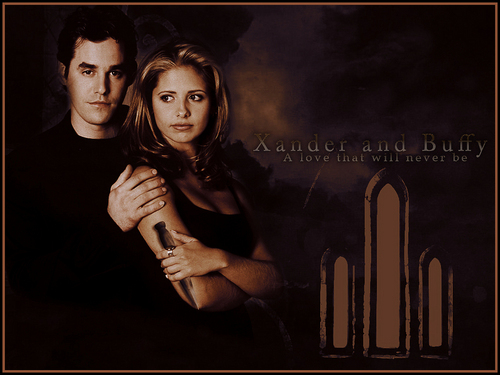 buffy and xander