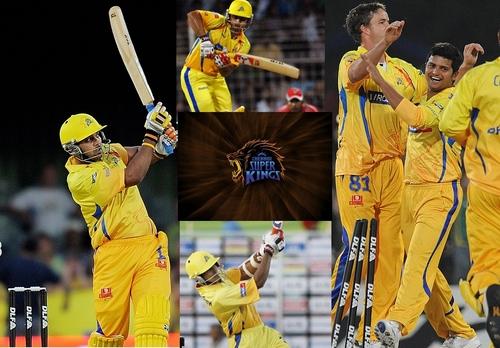 CSK- Chennai super kings karatasi la kupamba ukuta called csk thaan super!
